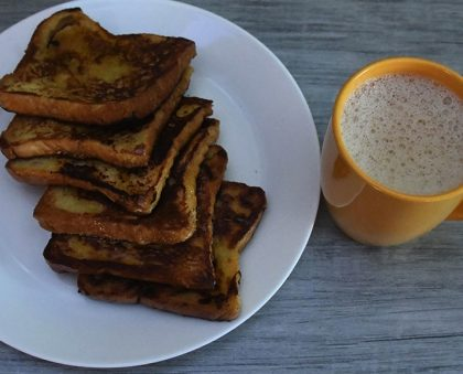 Honey- Coconut French Toast