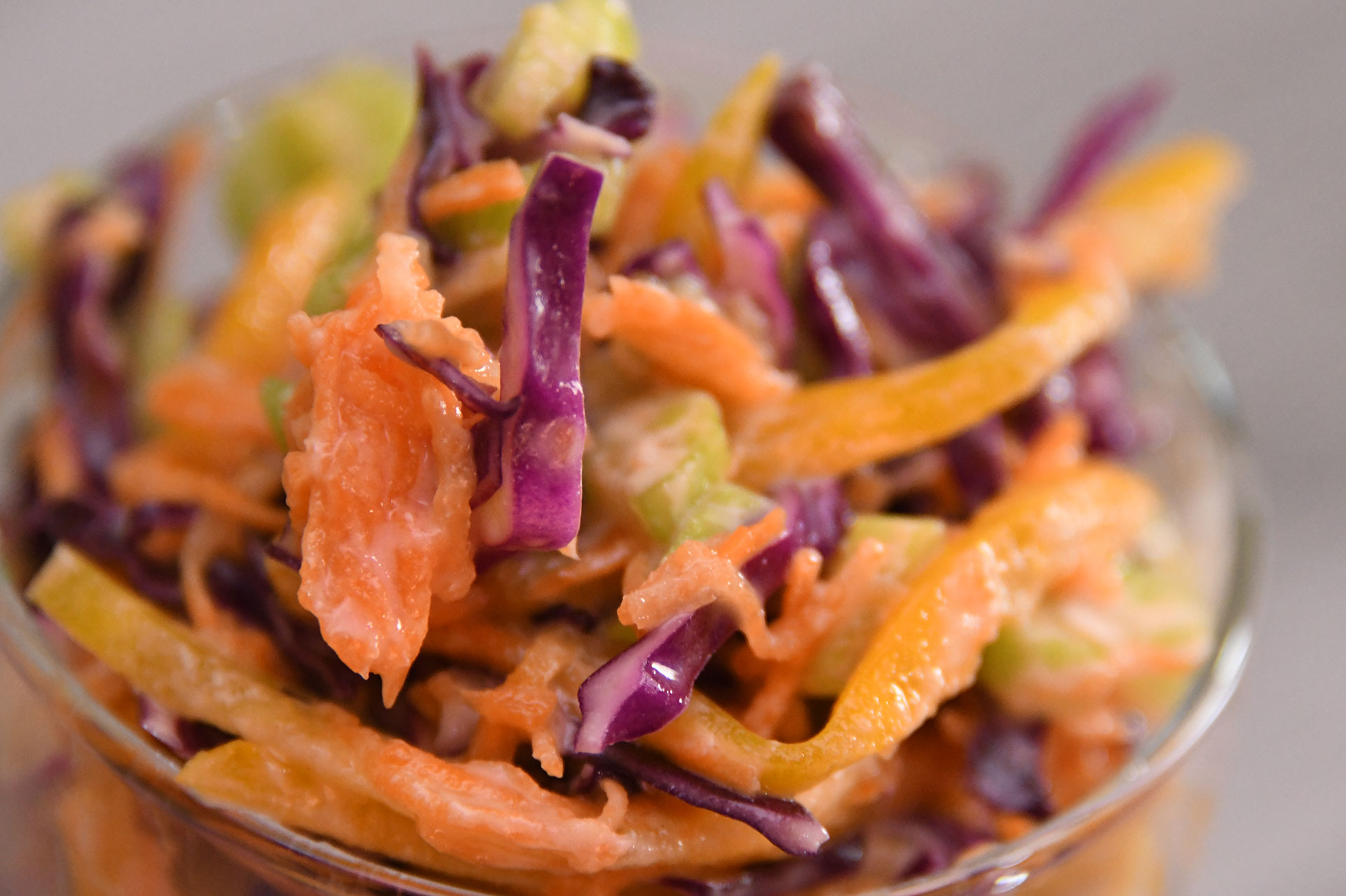 Sweet And Crunchy Coleslaw