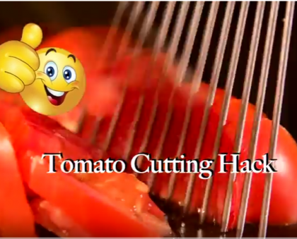 Tomato Cutting Hack