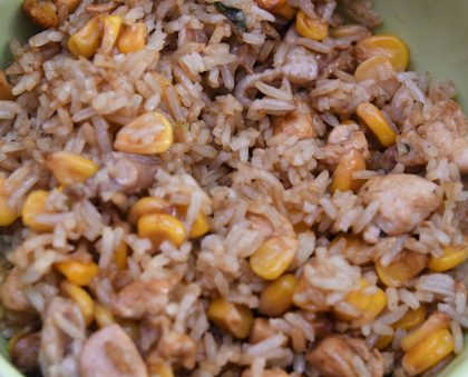Chicken and Corn Rice