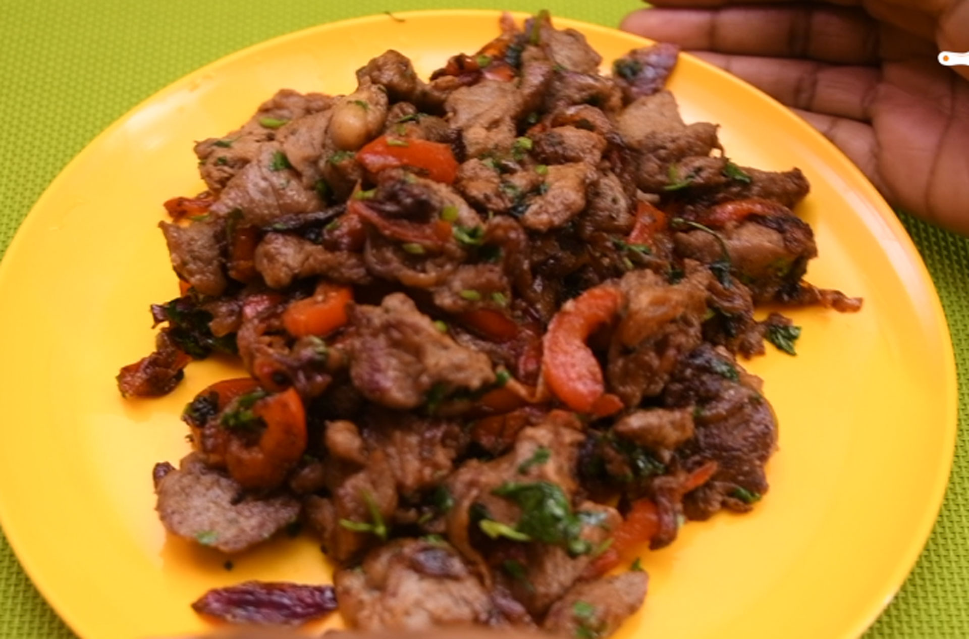The Secret To Making The Perfect Dry Fry Beef