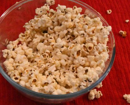 Tasty Home-made Popcorn