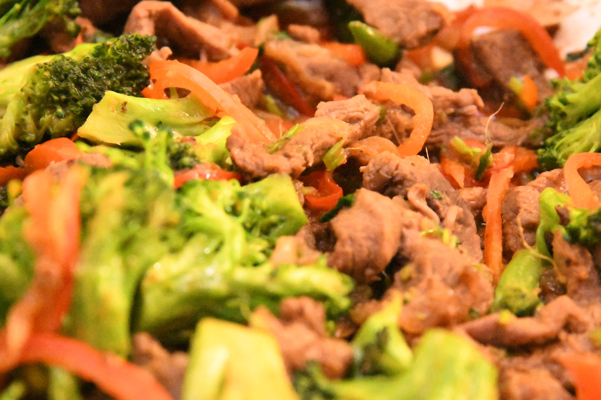 Tasty Broccoli and Beef Fry