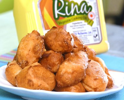 How To Make Choux Pastry With Rina Oil