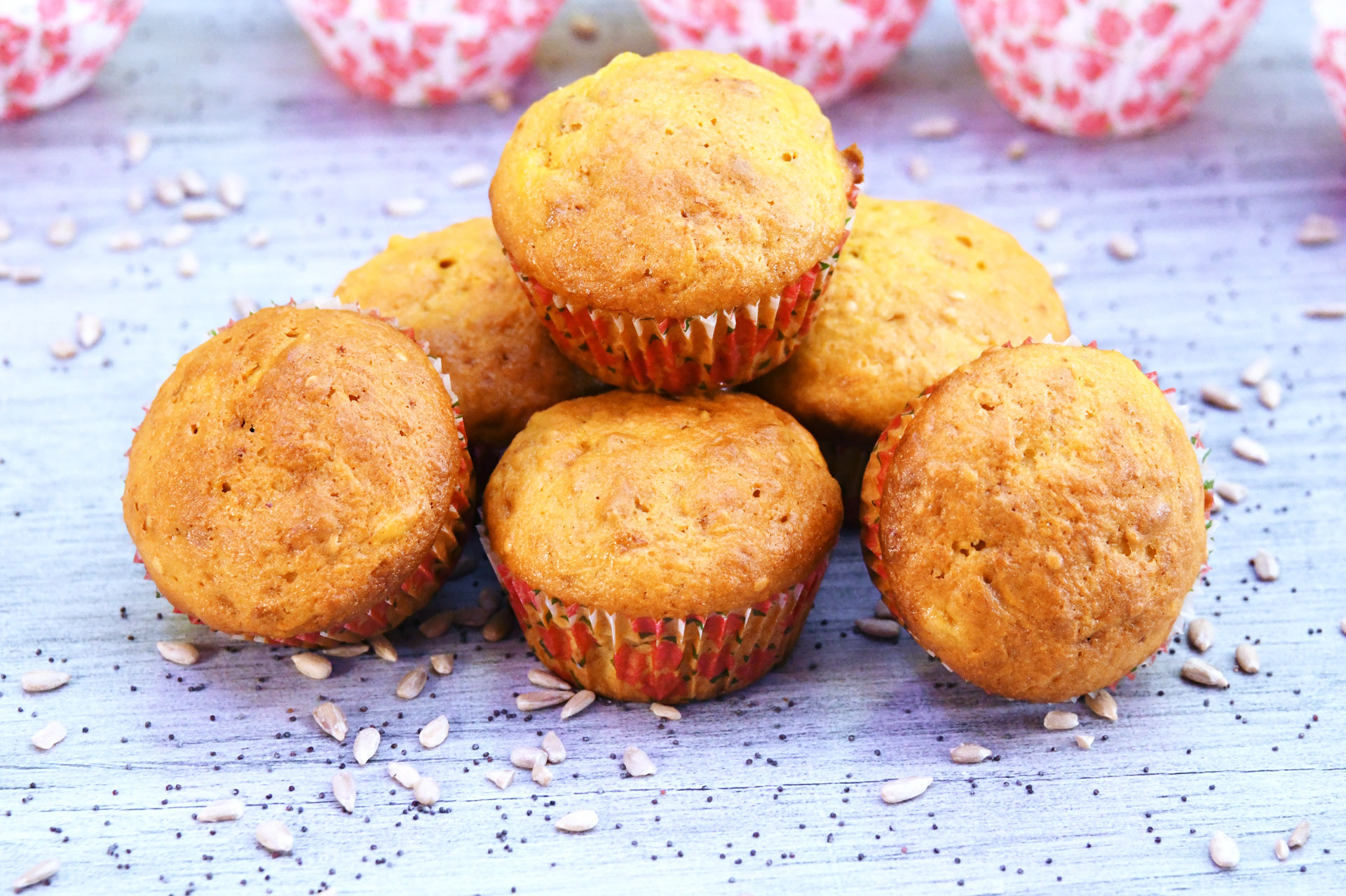Fruity Seed Muffins