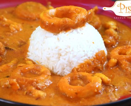 Curry Coconut Calamari