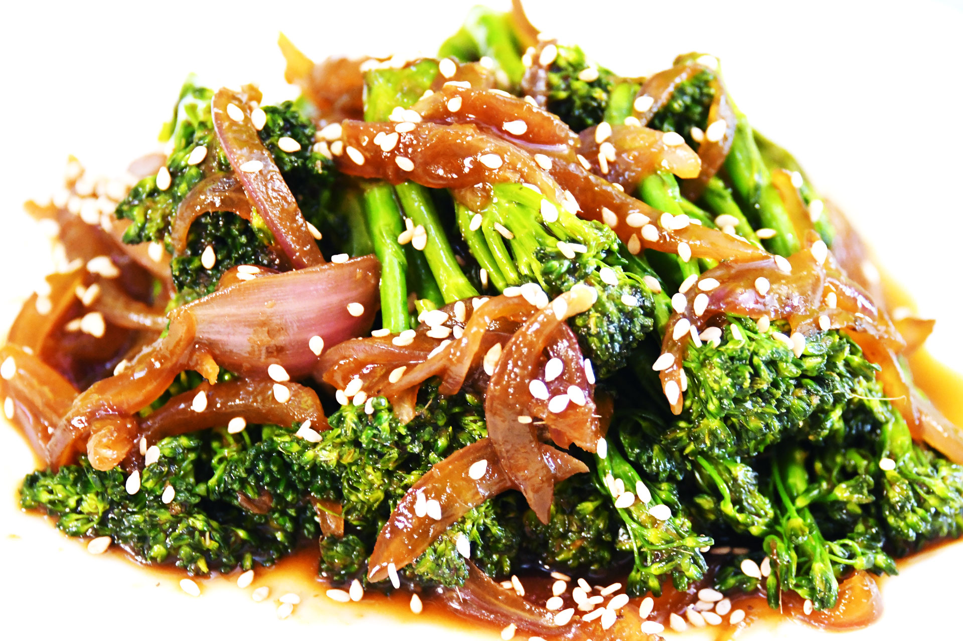 Sweet and Sour Broccoli