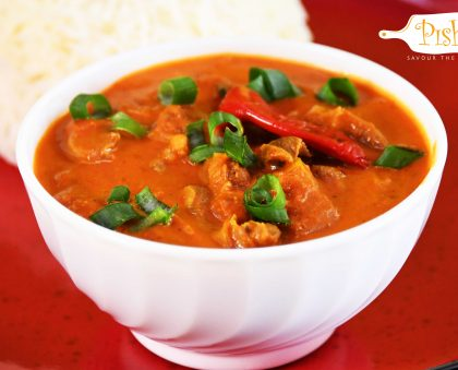 Coconut Gizzard Curry