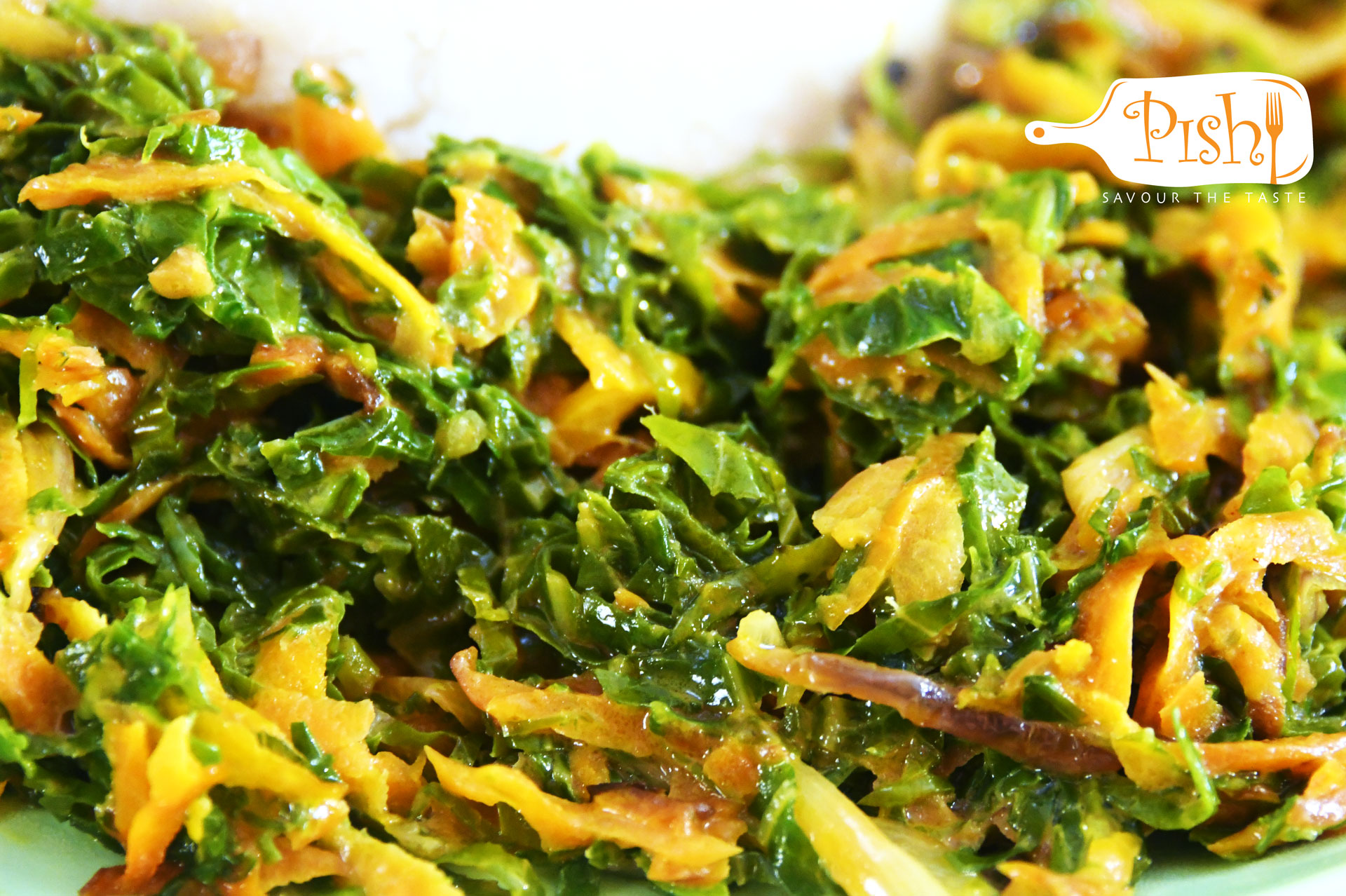 Creamy Carrot and Sukuma wiki
