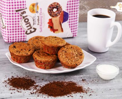 Elliot's Yoghurt and Coffee Muffins