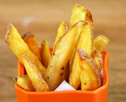 Perfectly Salted Herb Chips