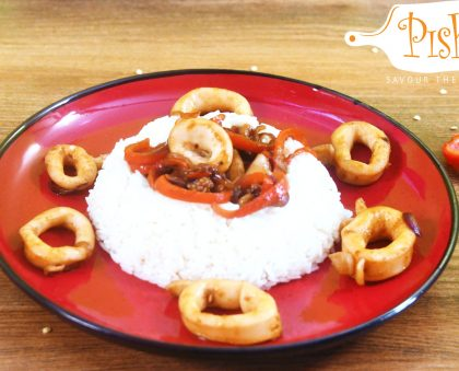 Stir-Fried Calamari