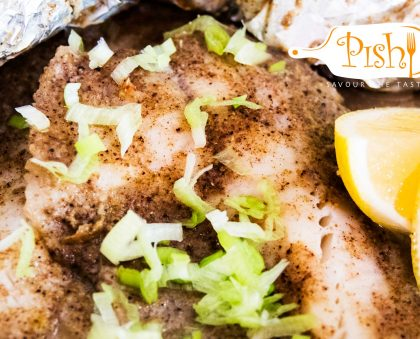 Baked Coconut Tilapia