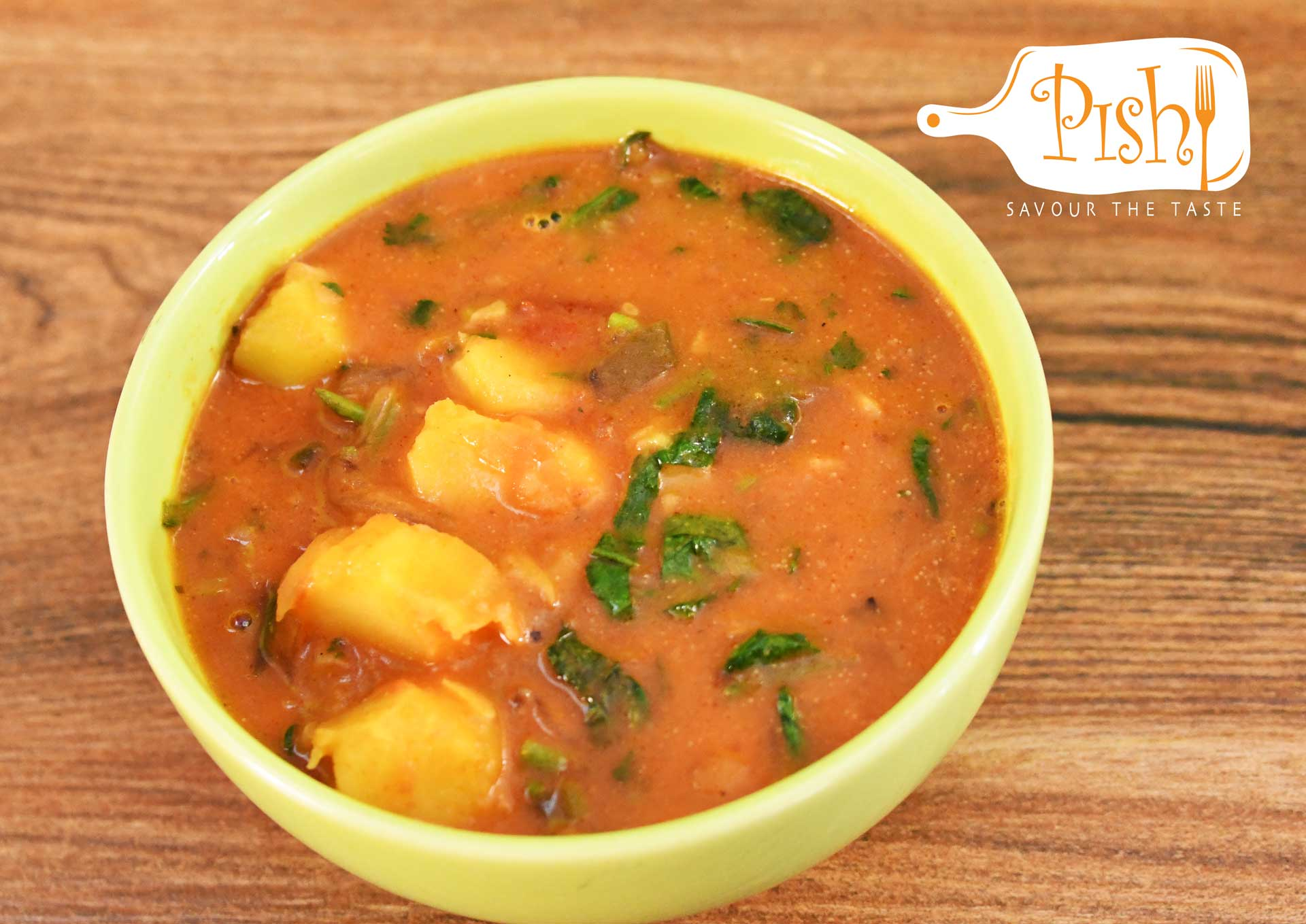 Potato and Spinach Stew