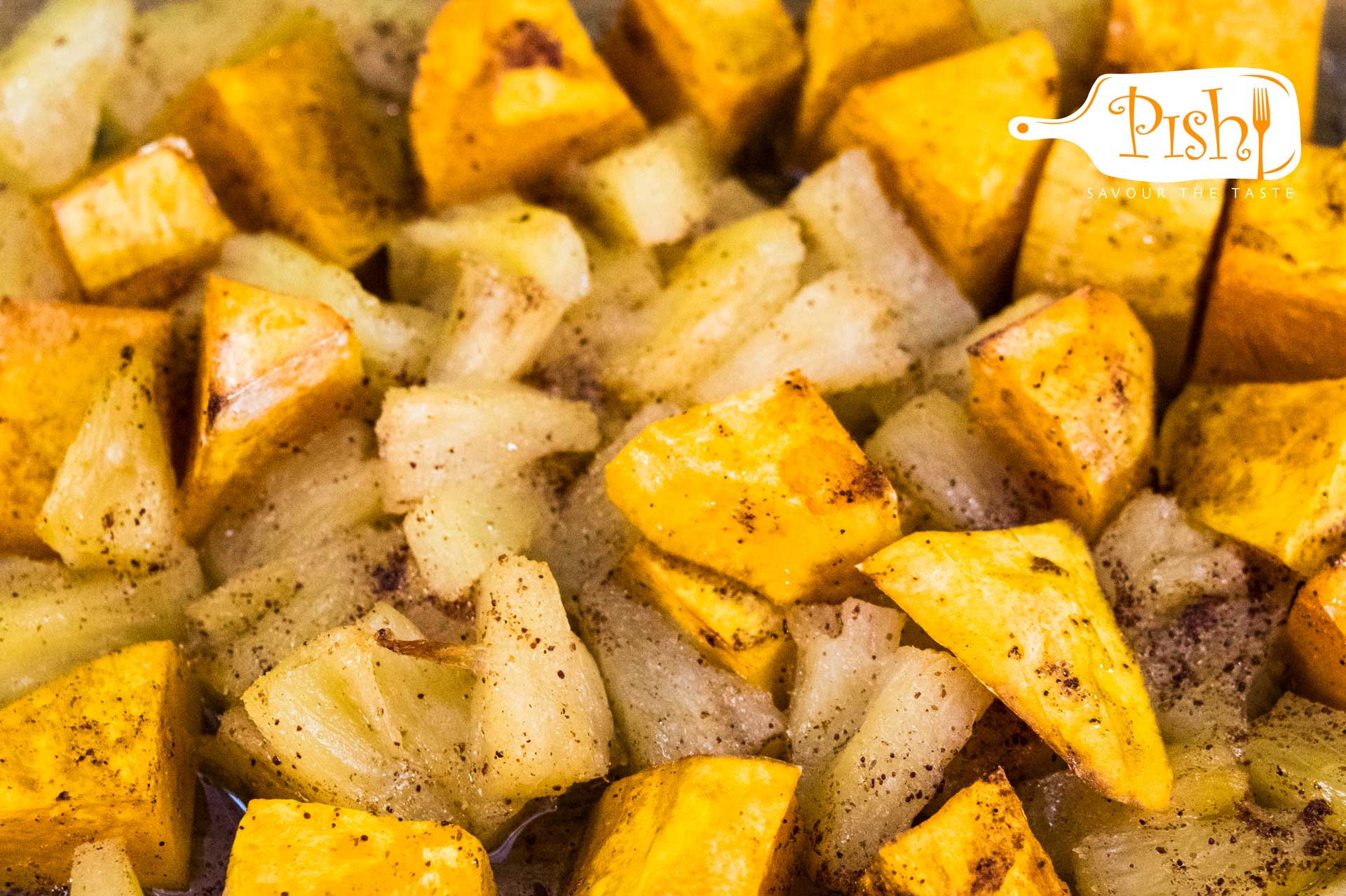 Roast Pineapple and Butternut
