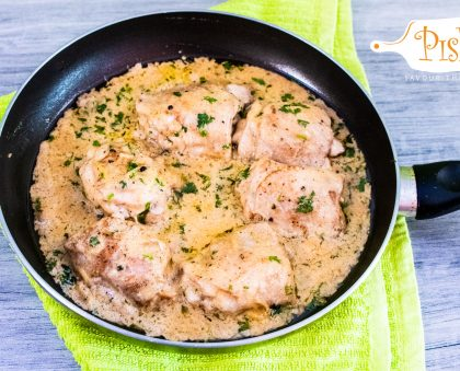 Lemon and Cream Chicken