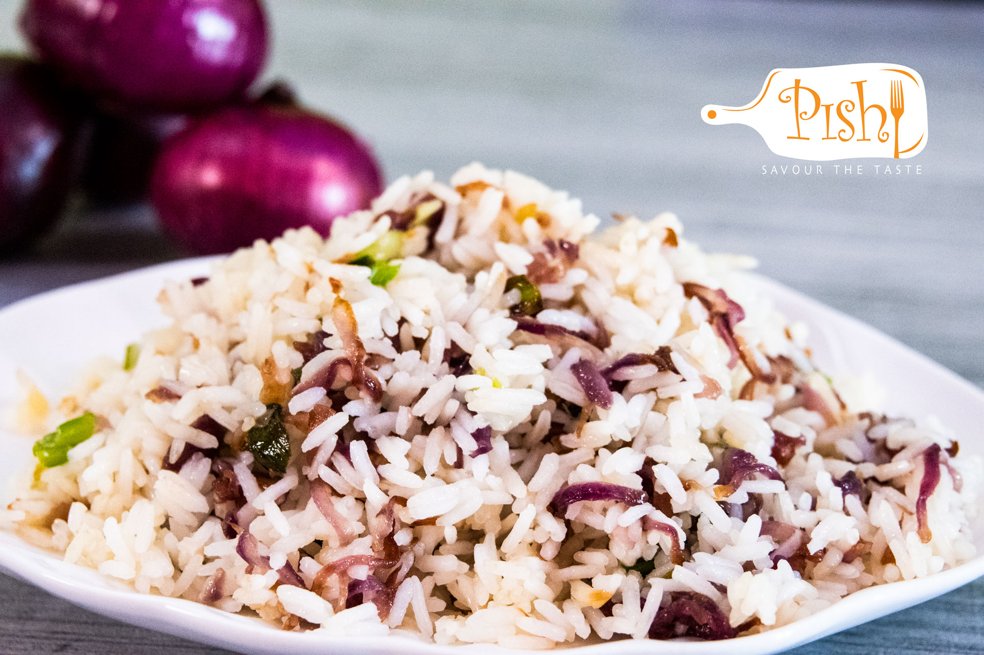 How to make Onion Rice