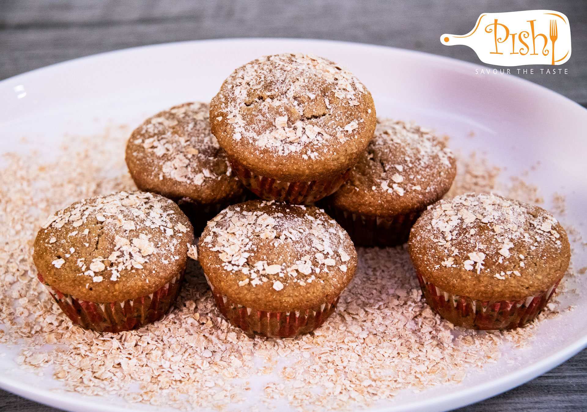 Peanut Butter and Oatmeal Muffins