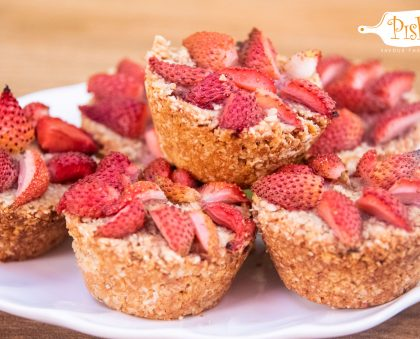 Peanut Strawberry Cups