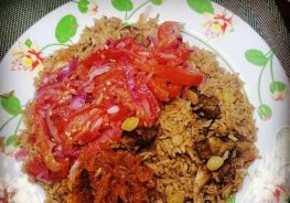 #PISHIHomeChef of the week: Pilau ya Zabibu (Raisin Pilau)