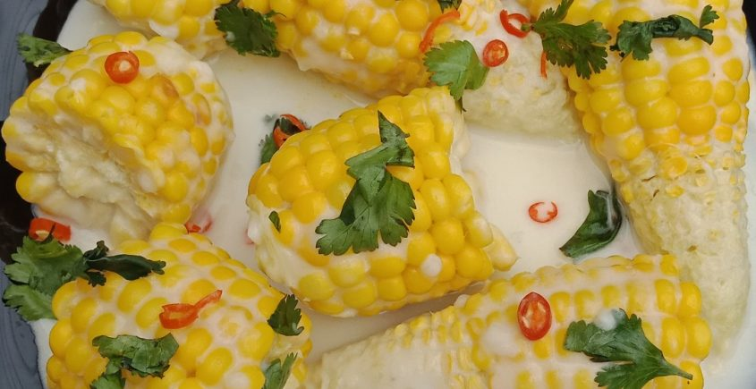 #PISHIHomeChef: Sweet Corn with Coconut Milk