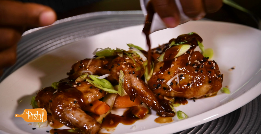Chicken Teriyaki & Sesame Salad – Chef Stephen